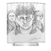 Harry And Friends Shower Curtain