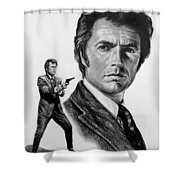 Harry Callahan Shower Curtain by Andrew Read