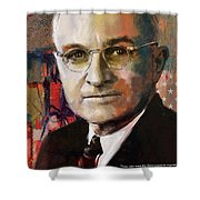 Harry S. Truman Shower Curtain