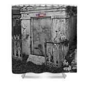 Harry T Hays Major General Lafayette Cemetery 1 Dsc05175 Shower Curtain