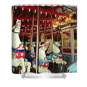 Hartford Carousel Shower Curtain