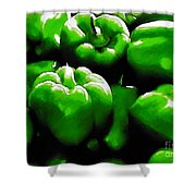 Hartville Peppers Shower Curtain