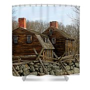 Hartwell Tavern 3 Shower Curtain