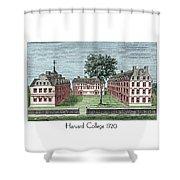 Harvard College - 1720 Shower Curtain
