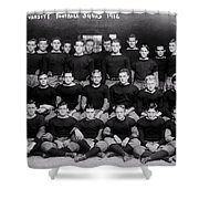 Harvard Football 1912 Shower Curtain