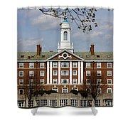 Harvard University Moors Hall Shower Curtain