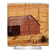 Harvest Barn Shower Curtain