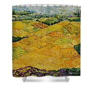 Harvest Joy Shower Curtain