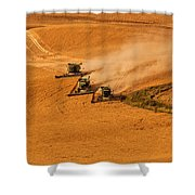 Harvest Shower Curtain by Mary Jo Allen