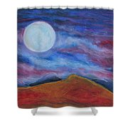 Harvest Moon 1 Shower Curtain