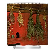 Harvest Of Herbs Shower Curtain