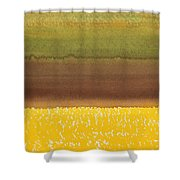Harvest Original Painting Shower Curtain