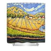 Harvest St Germain Quebec Shower Curtain