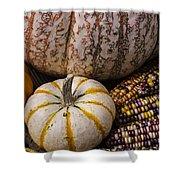 Harvest Still Life Shower Curtain