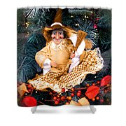 Harvest Witch Shower Curtain