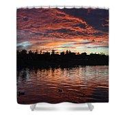 Harveston Sunset Shower Curtain