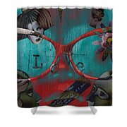 Hassel At Bay  Shower Curtain