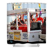 Hastings Carnival Queen Shower Curtain