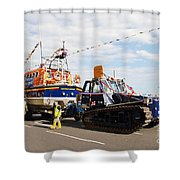 Hastings Lifeboat Shower Curtain