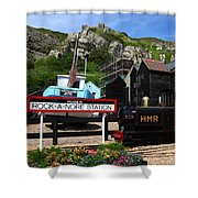 Hastings Miniature Railway  Shower Curtain