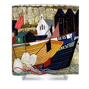 Hastings Remembered Shower Curtain