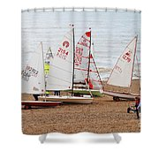 Hastings Sailing Boats Shower Curtain