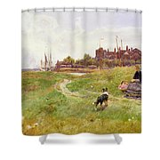 Hastings Shower Curtain