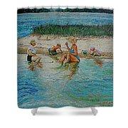 Hatchet Point Shower Curtain