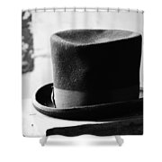 Hats Off Insults Shower Curtain