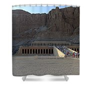 Hatshepsut Temple 06 Shower Curtain
