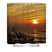 Hatteras Island Sunrise 1 7/31 Shower Curtain