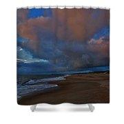 Hatteras Island Sunrise 1 9/10 Shower Curtain
