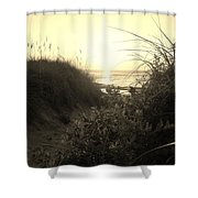 Hatteras Island Sunrise 12 8/28 Shower Curtain