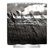 Hatteras Island Sunrise 18 9/3 Shower Curtain