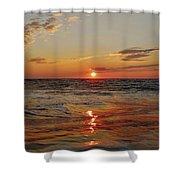 Hatteras Island Sunrise 2 7/30 Shower Curtain