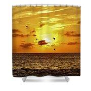 Hatteras Island Sunrise 20 9/3 Shower Curtain