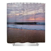 Hatteras Island Sunrise 4 10/18 Shower Curtain