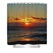 Hatteras Island Sunrise 4 11/03 Shower Curtain