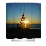 Hatteras Island Sunrise 4 8/23 Shower Curtain