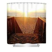 Hatteras Island Sunrise 6 8/23 Shower Curtain