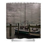 Hatteras Stormy Day 6/5 Shower Curtain