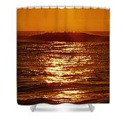 Hatteras Sunrise 16 8/6 Shower Curtain