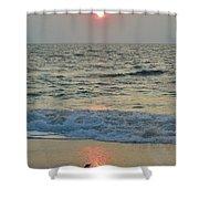 Hatteras Sunrise 5 8/8 Shower Curtain