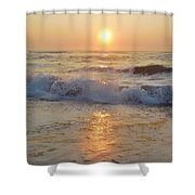 Hatteras Sunrise 9 8/6 Shower Curtain
