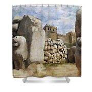 Hattusha The Hittite Capital Shower Curtain