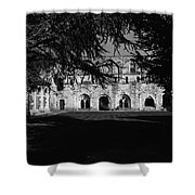 Haunted Abbey Shower Curtain