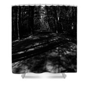 Haunted Forest Shower Curtain