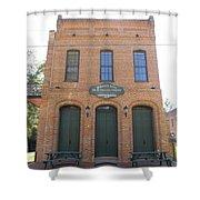 Haunted Historic Saloon Shower Curtain