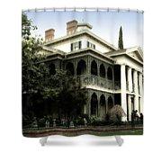 Haunted Mansion New Orleans Disneyland Shower Curtain