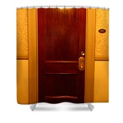 Haunted Room 217 Shower Curtain